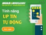 Hướng dẫn sử dụng tính năng Up tin tự động trên MuaBanNhanh.com