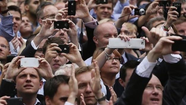 Người người dung smartphone
