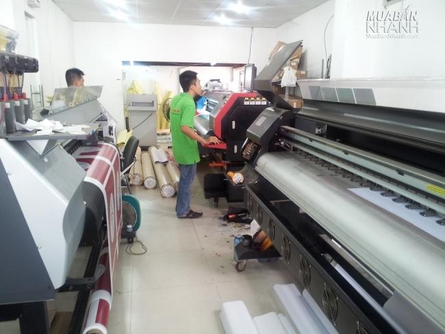 In Kỹ Thuật Số tự chủ trong in ấn với hệ thống máy in hiện đại, công nghệ Nhật