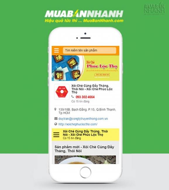 PhonePage - Trang Số Điện Thoại Xôi Chè Phúc Lộc Thọ
