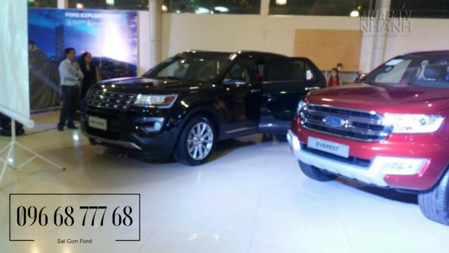 Ngày hội SUV tại Sài Gòn Ford - Ford Cao Thắng 2