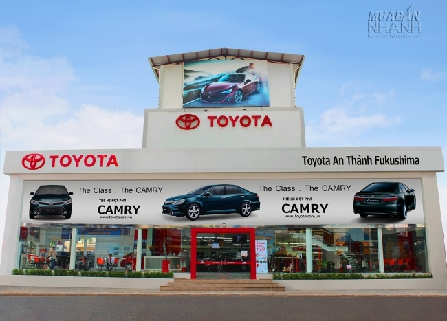 Đại lý Toyota An Thành Fukushima
