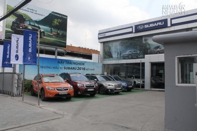 Subaru Sài Gòn - Đại lý Subaru chính hãng tại Việt Nam đối tác đồng hành cùng Mạng xã hội MuaBanNhanh