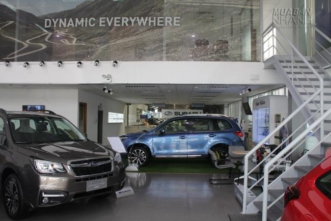 Xe Subaru mới luôn có hàng tại showroom đại lý Subaru Sài Gòn