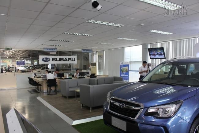 Đến với Subaru Sài Gòn - Đại lý Subaru chính hãng tại Việt Nam không lo không chọn được mẫu xe Subaru ưng ý