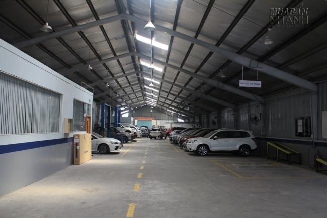 Khu vực bảo dưỡng và bảo trì xe Subaru tại Subaru Sài Gòn - Đại lý Subaru chính hãng tại Việt Nam