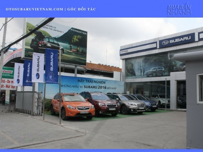 Đại lý Subaru Sài Gòn - Đại lý Subaru chính hãng tại Viêt Nam