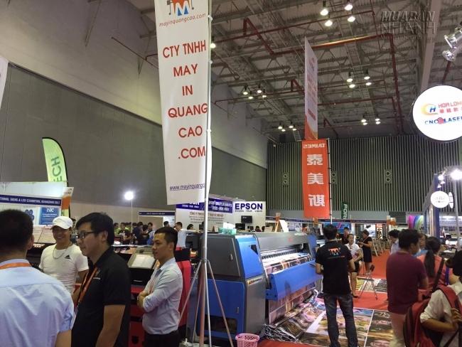 MayInQuangCao.com tham gia hội chợ, triển lãm ngành Thiết bị Vật tư Công nghiệp Sản xuất hàng năm 1