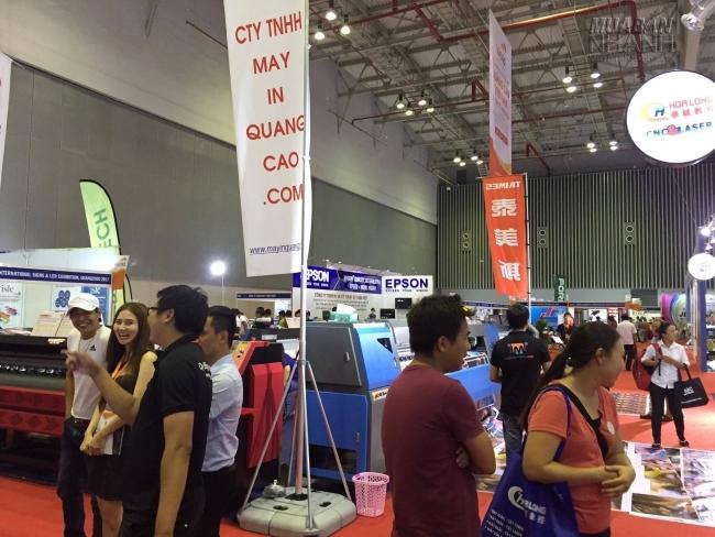 MayInQuangCao.com tham gia hội chợ, triển lãm ngành Thiết bị Vật tư Công nghiệp Sản xuất hàng năm 2