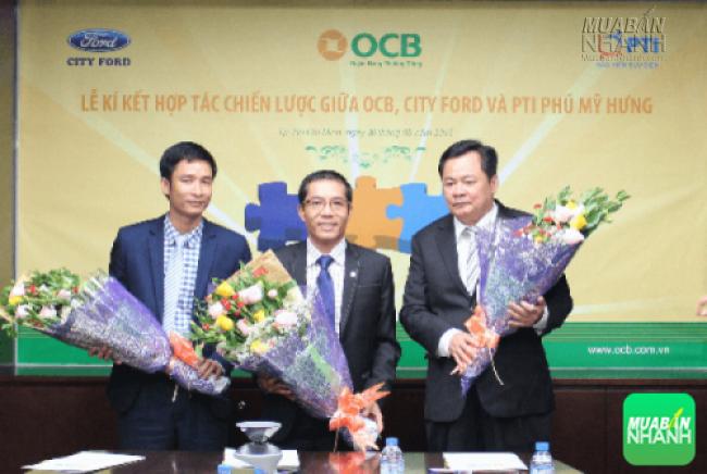 Hoạt động hợp tác OCB hợp tác với City Ford và Bảo hiểm PTI Phú Mỹ Hưng