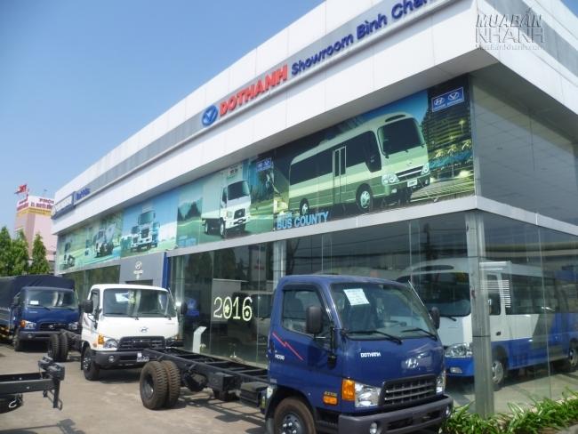 Đại lý xe tải Hyundai Đô Thành showroom Bình Chánh - đối tác kinh doanh xe tải thành công cùng Mạng Xã Hội Mua Bán Nhanh