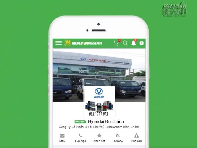 Đại lý Hyundai Đô Thành – đối tác đồng hành cùng Mạng Xã Hội MuaBanNhanh