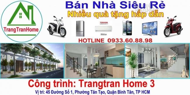 Chương trình khuyến mãi QUÀ TẶNG HẤP DẪN khi mua nhà cùng Trangtran Home